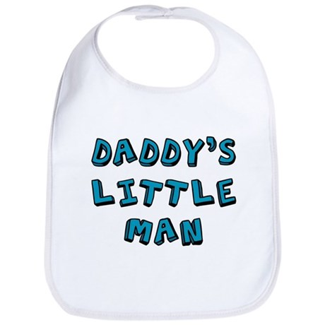 Daddy's little man Bib