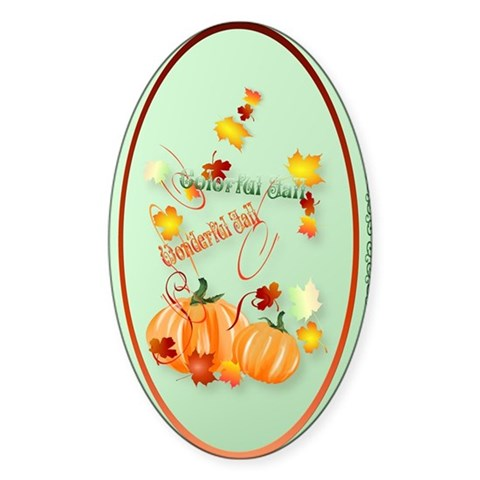 Jewel Key Chain Beautiful Fall Decal