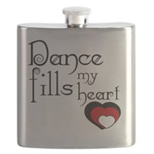 Dance Fills My Heart Flask