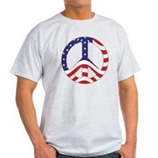 Patriotic Peace Sign T-Shirt
