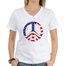 Patriotic Peace Sign Shirt