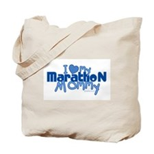 I Love My Marathon Mommy Tote Bag
