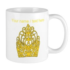 Custom Gold Crown Mugs