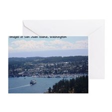 San Juan Island Greeting Card