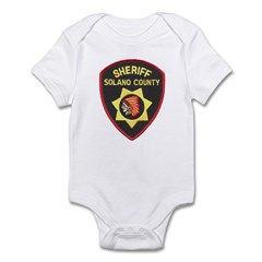 Solano County Sheriff Infant Bodysuit