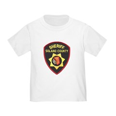 Solano County Sheriff Toddler T-Shirt