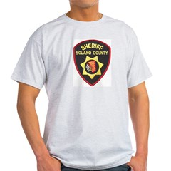 Solano County Sheriff Light T-Shirt
