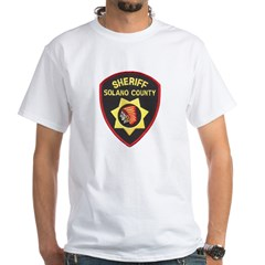 Solano County Sheriff White T-Shirt
