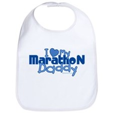 I Love My Marathon Daddy Bib