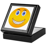 Happy Smiley Keepsake Box
