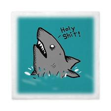 Holy Shark Queen Duvet