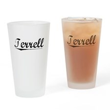 Terrell, Vintage Drinking Glass