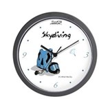 Skydiving Equiptment and Gear Wall Clock
