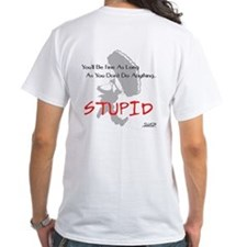 Don't Do Anything Stupid Skydiving Shirt
