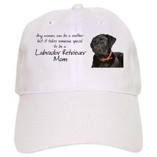 Black Lab Leash/Key Baseball Cap