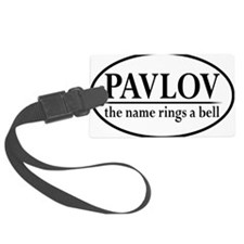 pavlovoval Luggage Tag