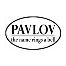 pavlovoval Wall Decal