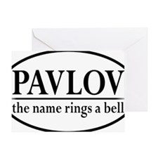 pavlovoval Greeting Card