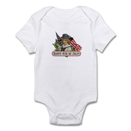 Happy 4th Of July Infant Bodysuit