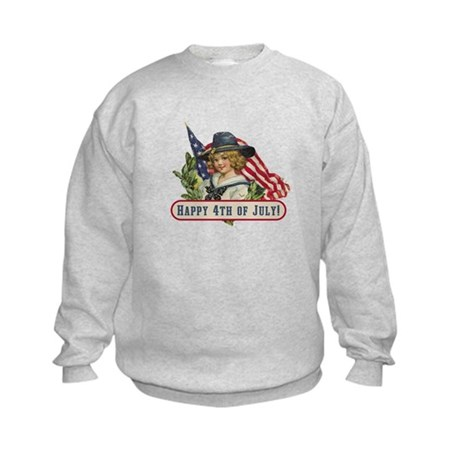 Happy 4th Of July Kids Sweatshirt
