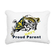 Proud USNA Parent Rectangular Canvas Pillow