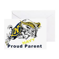 Proud USNA Parent Greeting Card