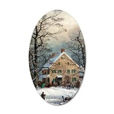 Winter In The Country Wall Decal