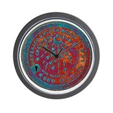 METERCOVER#1 Wall Clock
