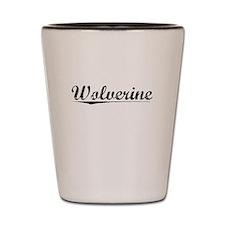 Wolverine, Vintage Shot Glass