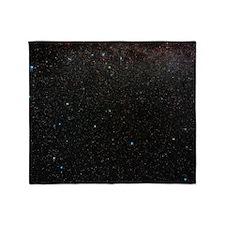 Andromeda constellation Throw Blanket