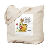 Rules of the Game Garfield and Odie Tote Bag