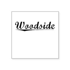 "Woodside, Vintage Square Sticker 3"" x 3"""