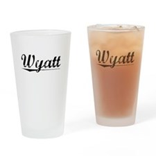 Wyatt, Vintage Drinking Glass