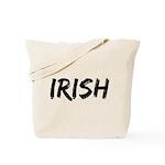 Irish Handwriting Tote Bag