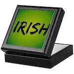 Irish Handwriting Keepsake Box
