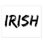 Irish Handwriting Small Poster