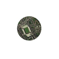 Arsenal's Highbury stadium, aerial vie Mini Button