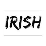Irish Handwriting Mini Poster Print