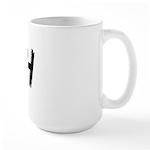 Irish Handwriting Large Mug