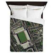 Arsenal's Highbury stadium, aerial vie Queen Duvet