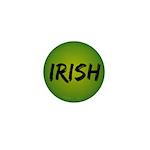 Irish Handwriting Mini Button