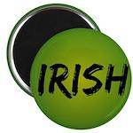"""Irish Handwriting 2.25"""" Magnet (10 pack)"""