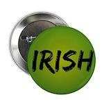"""Irish Handwriting 2.25"""" Button (10 pack)"""