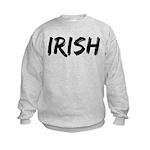 Irish Handwriting Kids Sweatshirt