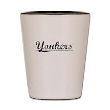 Yonkers, Vintage Shot Glass