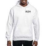 Irish Handwriting Hooded Sweatshirt