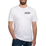 Irish Handwriting Fitted T-Shirt
