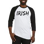 Irish Handwriting Baseball Jersey