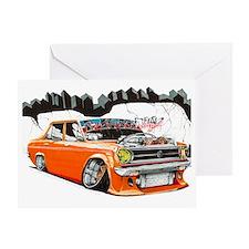 Datsun 1200 Dark Greeting Card
