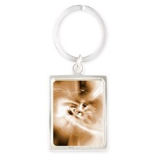 Black hole Portrait Keychain